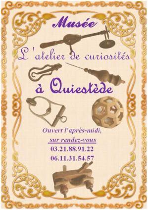 Atelier curiosites affiche